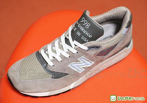New balance 998 シューズを個人輸入