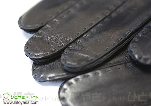 DENTS 手袋  指先 Silk Lined Leather Glove