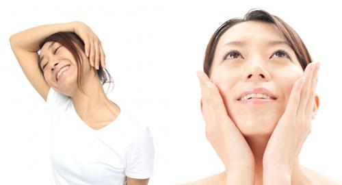 顎関節症の対策ストレッチ