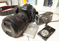 今まで持っていたカメラ