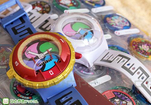 妖怪ウォッチ腕時計の電池交換、種類と個数